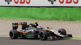 Sergio Perez (Force India Mercedes) - F1 Monza 2015