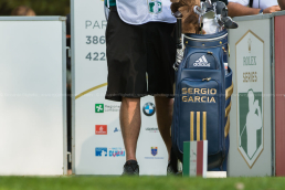 Sergio Garcia golf bag - open italia 2017