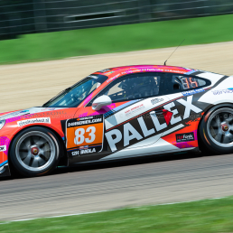 Fairbrother/Armstrong/Liquirish/Morgan (Slidesports Pallex) - Creventic 12H Imola 2018