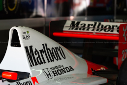 senna mclaren mp4/5 - minardi day 2019