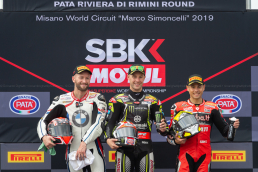 Race 2 Podium - WorldSBK Misano 2019